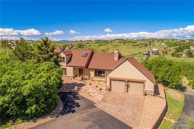 Castle Rock Single Family Home Active: 9053 Clydesdale Road