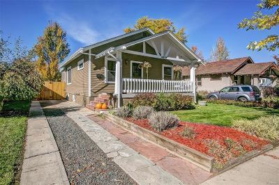Denver Single Family Home Under Contract: 4457 Newton Street