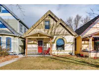 Denver Single Family Home Active: 3341 West 33rd Avenue