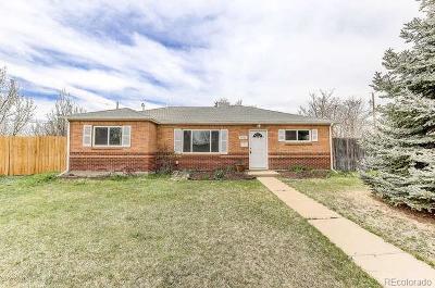 Thornton Single Family Home Active: 9071 Cedar Court