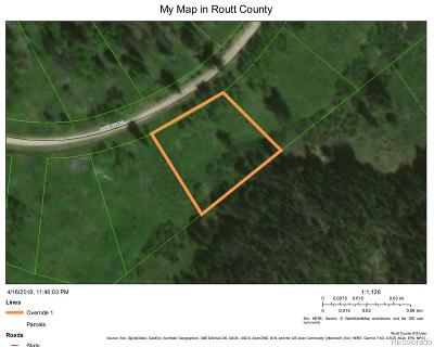 Residential Lots & Land Active: 32514 Ute Trail