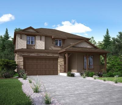 Parker CO Single Family Home Active: $485,603