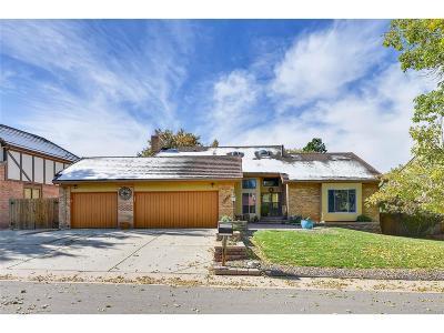 Aurora Single Family Home Active: 3463 South Cimarron Way