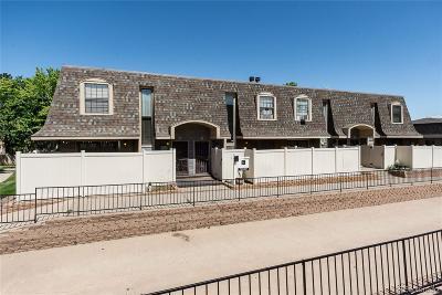 Aurora Condo/Townhouse Active: 15553 East Wyoming Drive #C