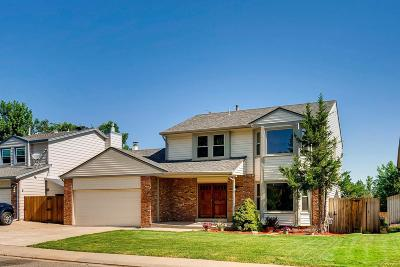 Littleton Single Family Home Active: 8975 West Tanforan Drive
