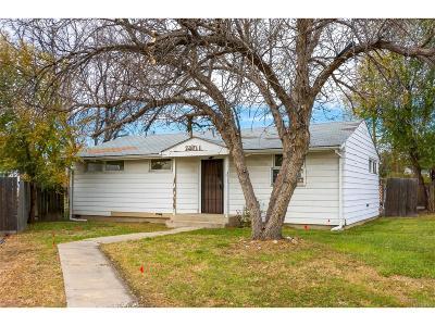 Denver Single Family Home Under Contract: 7401 Granada Road