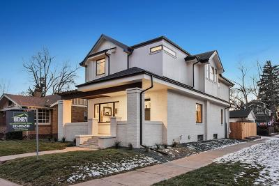 Denver Single Family Home Active: 801 South Race Street