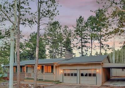 Woodland Park Single Family Home Under Contract: 1309 West Lorraine Avenue
