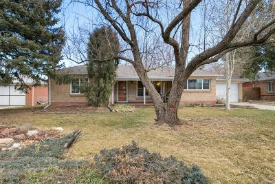 Wheat Ridge Single Family Home Under Contract: 3526 Newland Street