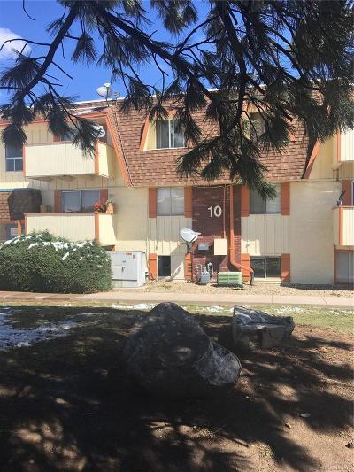 Thornton Condo/Townhouse Under Contract: 10211 Ura Lane #10-205