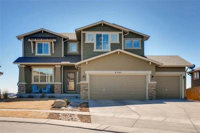 Colorado Springs Single Family Home Active: 5255 Eldorado Canyon Court