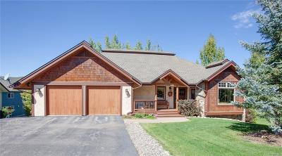 Steamboat Springs CO Single Family Home Active: $1,285,000