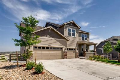 Castle Rock CO Single Family Home Active: $629,882