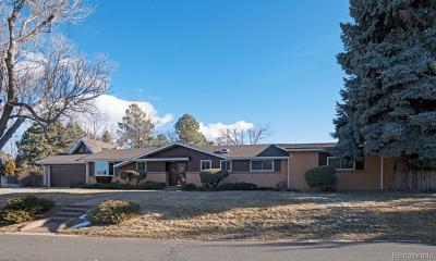 Littleton Single Family Home Under Contract: 6178 South Lakeview Street