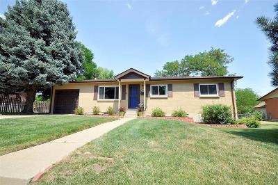 Lakewood CO Single Family Home Active: $465,000