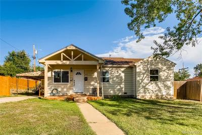 Thornton Single Family Home Under Contract: 8850 Hoyt Drive