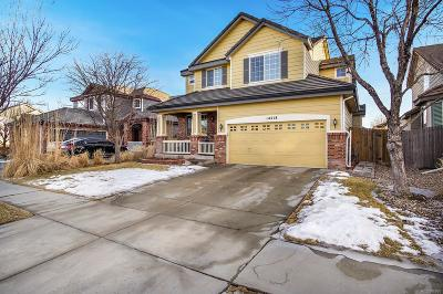 Commerce City Single Family Home Under Contract: 14218 East 101st Place