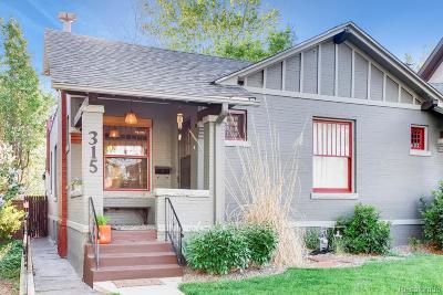 Denver Condo/Townhouse Active: 315 South Corona Street