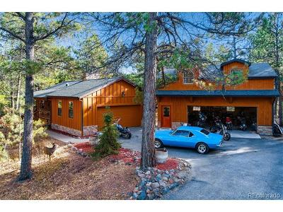 Larkspur CO Single Family Home Active: $575,000