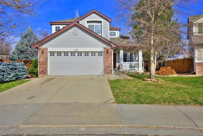 Longmont Single Family Home Under Contract: 1110 Button Rock Drive