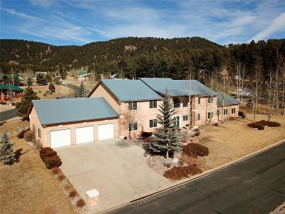 Woodland Park Single Family Home Under Contract: 920 Heather Court