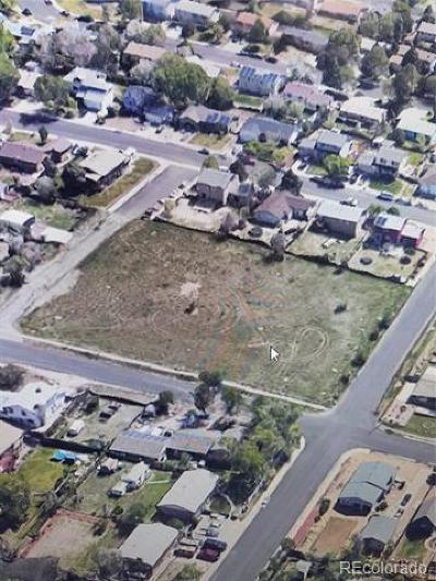 Aurora Residential Lots & Land Active: 14900 East 24th Avenue
