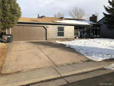 Castle Rock Single Family Home Active: 976 Mountain View Drive