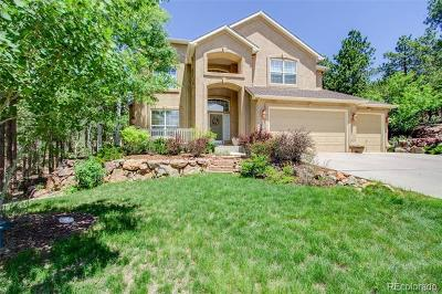 Colorado Springs Single Family Home Active: 15791 Wildwood Court