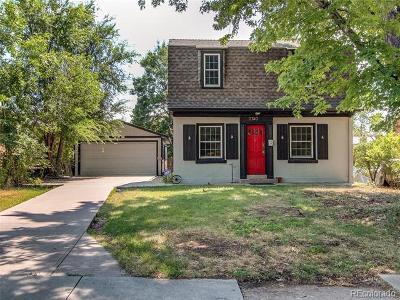 Denver CO Single Family Home Active: $615,000