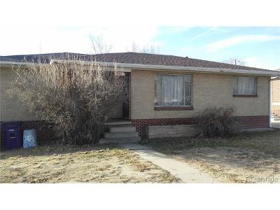 Denver Single Family Home Active: 4801 Eaton Street