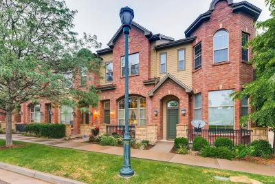 Lone Tree Condo/Townhouse Sold: 10190 Ridgegate Circle
