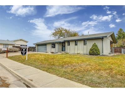 Broomfield Single Family Home Under Contract: 13003 Lowell Court