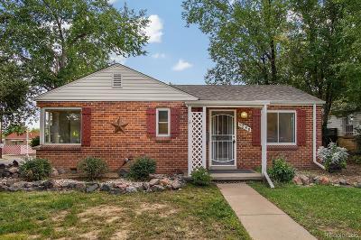 Denver CO Single Family Home Active: $298,500