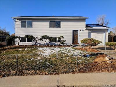 Denver Single Family Home Active: 8257 High Street