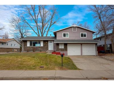 Littleton Single Family Home Active: 8793 West Rice Avenue