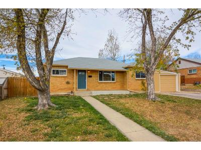 Thornton Single Family Home Under Contract: 9221 Clayton Street