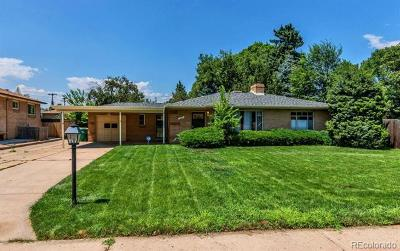 Wheat Ridge Single Family Home Active: 4425 Saulsbury Street