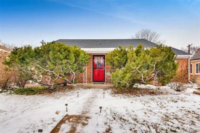 Denver County Single Family Home Active: 1335 Holly Street