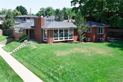 Denver Single Family Home Active: 1800 Fairfax Street