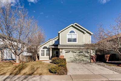 Castle Rock Single Family Home Under Contract: 4682 North Blazingstar Trail