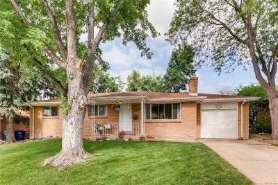 Westminster Single Family Home Active: 8833 Princeton Street