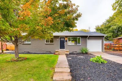 Arvada Single Family Home Active: 6763 Moore Street