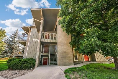 Boulder County Condo/Townhouse Active: 695 Manhattan Drive #219