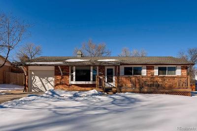 Centennial Single Family Home Under Contract: 7063 South Dexter Street