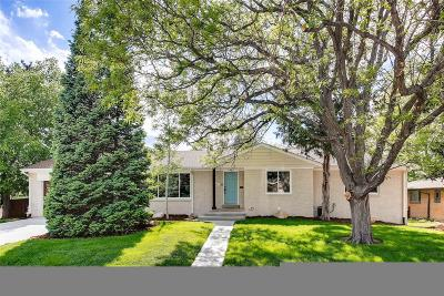 Denver Single Family Home Active: 3495 South Birch Street