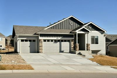 Berthoud Single Family Home Under Contract: 838 Canyonlands Street