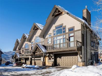 Steamboat Springs CO Condo/Townhouse Under Contract: $899,000