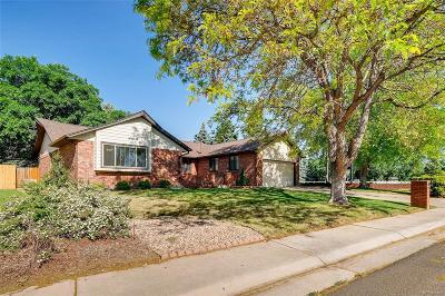 Wheat Ridge Single Family Home Under Contract: 3791 Vivian Court