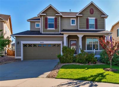 Castle Rock Single Family Home Active: 3432 Riding Hood Court