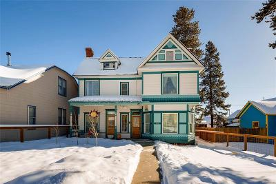 Leadville Single Family Home Under Contract: 129 West 8th Street